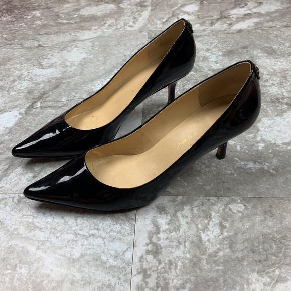 4bac4900786 Ivanka Trump Black Patent Leather Pointed Toe Heel